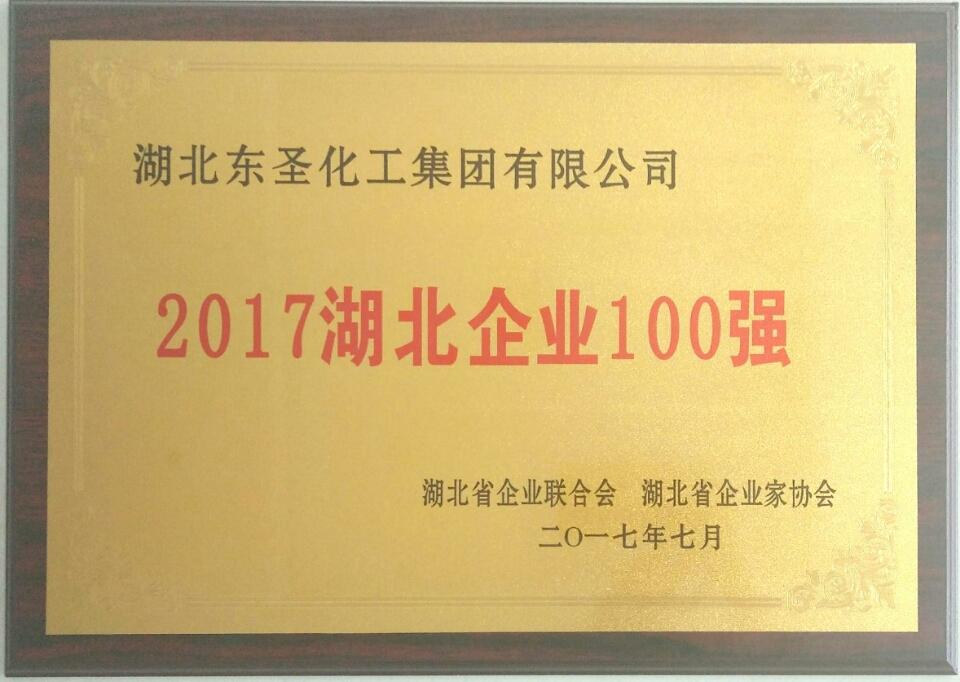湖北乐虎国际娱乐APPlehu vip有限公司荣膺2017湖北企业100强