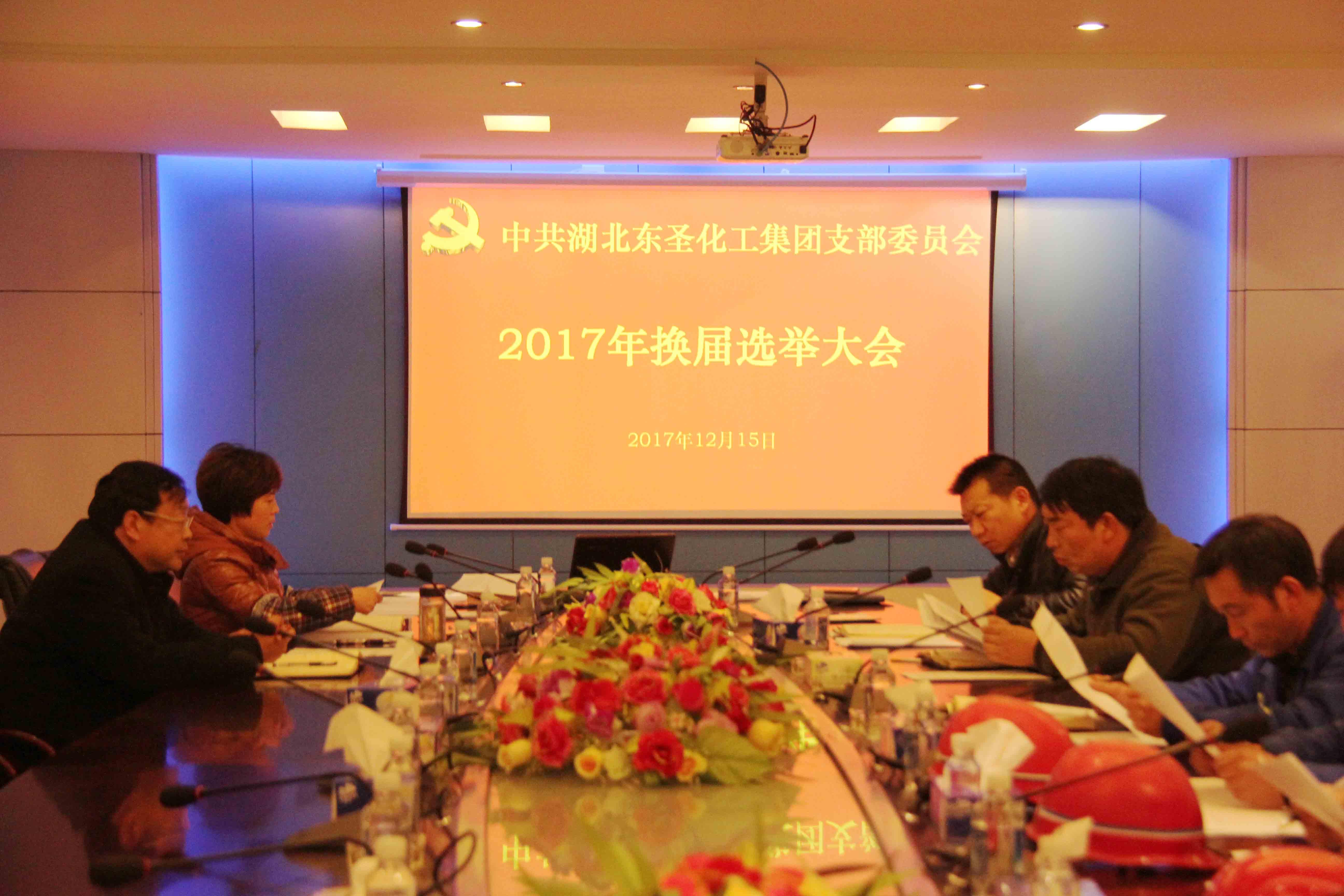 湖北乐虎国际娱乐APPlehu vip党支部成功召开2017年换届选举大会